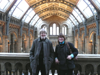Sue & Graham in Natural History Museum